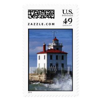 Light House USA Forever Postage Stamp