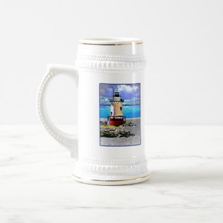 Light house, Westchester, NY 18 Oz Beer Stein