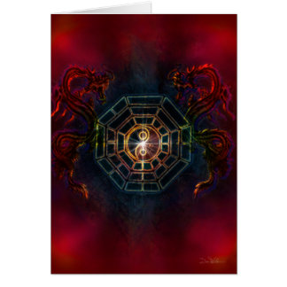 """Light In Shadow #47 """"BaGua Dragons"""" Card"""