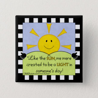 Light in Someone's Day-Sunshine Button