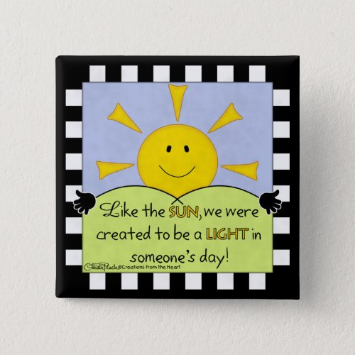 Light in Someoneâs Day_Sunshine Button