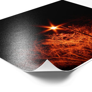Light in the dark photo print