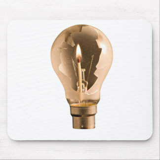 Light in the darkness mouse mat