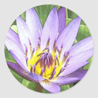 Light in the heart of the Lotus cards Stickers