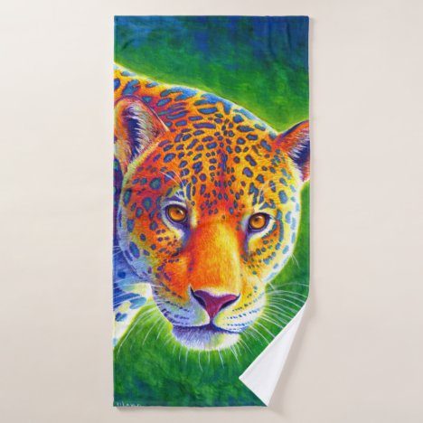 Light in the Rainforest Jaguar Bath Towel Set