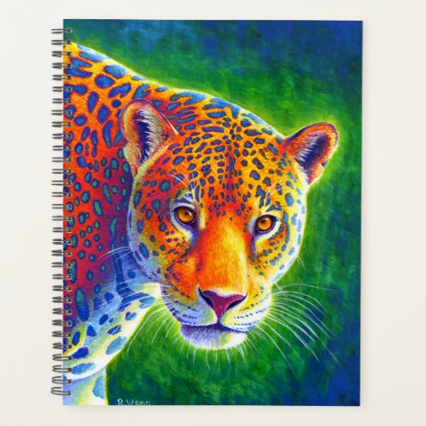 Light in the Rainforest Rainbow Jaguar Planner
