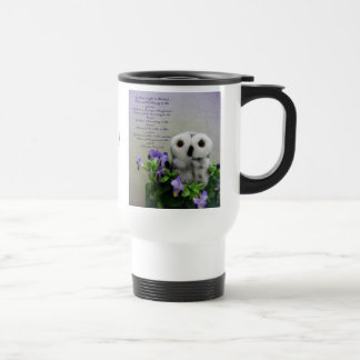 Light In The Soul 15 Oz Stainless Steel Travel Mug