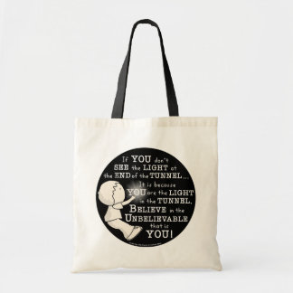 Light in the Tunnel Tote Bag