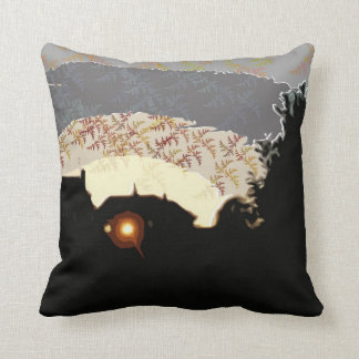 Light in the Window by Alexandra Cook Throw Pillow