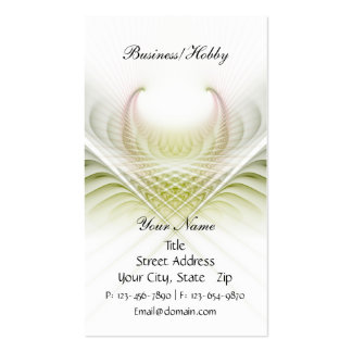 Light in Weave Card Double-Sided Standard Business Cards (Pack Of 100)