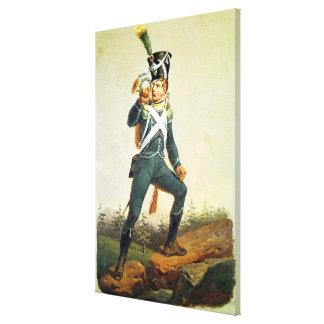 Light Infantry Ensign, 1811 Stretched Canvas Prints