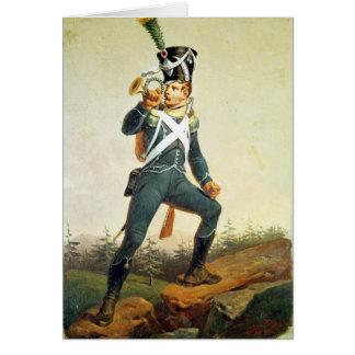 Light Infantry Ensign, 1811 Card