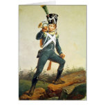 Light Infantry Ensign, 1811 Greeting Card