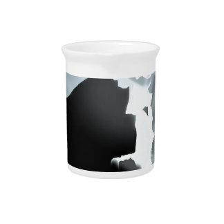 Light inside darkness pitcher