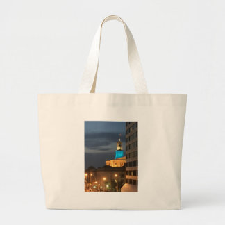 Light It Up Blue Large Tote Bag
