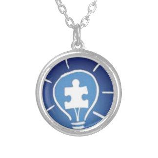 light it up blue necklace