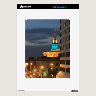 Light It Up Blue Skin For iPad