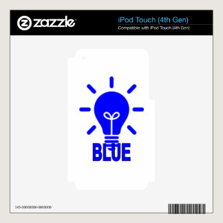 LIGHT IT UP BLUE THE AUTISM AWARENESS ''.png Decals For iPod Touch 4G