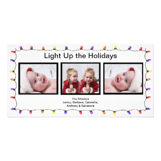 Light It Up! Christmas Photo Card