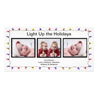 Light It Up! Christmas Photo Card