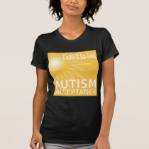 Light It Up Gold for Autism Acceptance T-Shirt