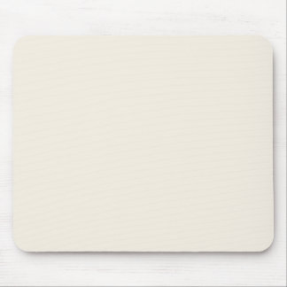 Light Ivory Tan Taupe Color Trend Blank Template Mouse Pad