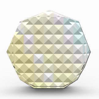 Light Khaki Yellow Abstract Low Polygon Background Awards