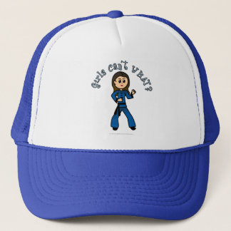 Light Kung Fu Girl Trucker Hat