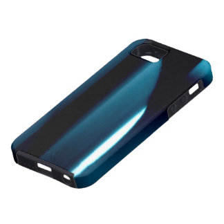 Light l Modern Black-Blue-White Abstract iPhone 5 Cover
