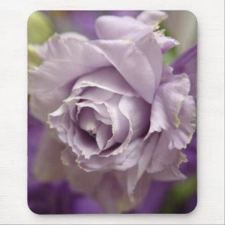 light lavender lizyanthus 2 mouse pad