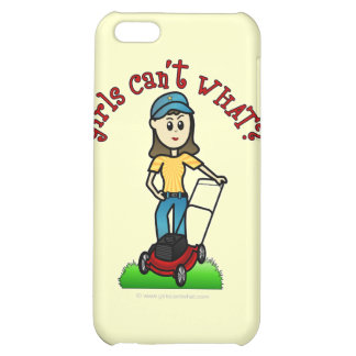 Light Lawn Care Girl iPhone 5C Cover