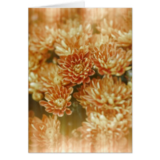 Light Leak Orange Marigolds Card