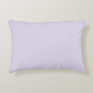 """Light Lilac"" Accent Pillow"