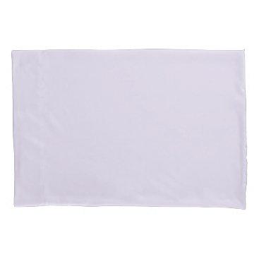 USA Themed Light Lilac Standard Sized Single Pillowcase