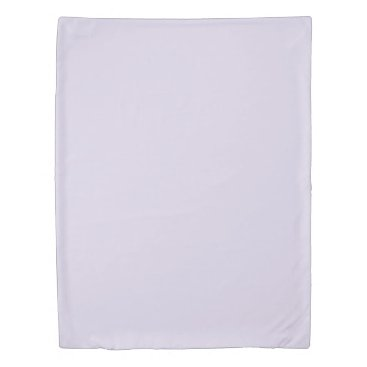 USA Themed Light Lilac Twin Size Duvet Cover