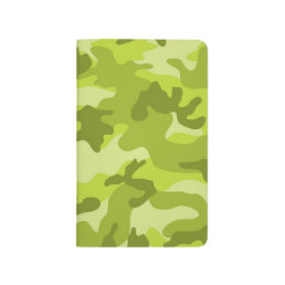 Light, Lime Green Camo, Camouflage Journal