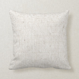Light Linen Background Pillow