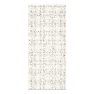 Light Linen Background Rack Card