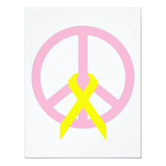Light Link Peace & Ribbon Card