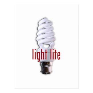 Light Lite Postcard