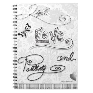 Light Love and Positivity Notebook