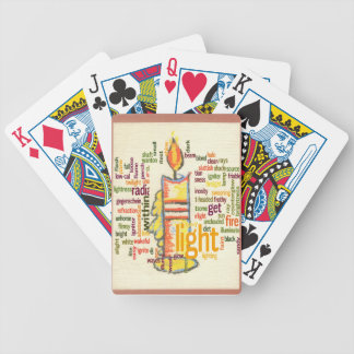 Light Lovely Bicycle Playing Cards