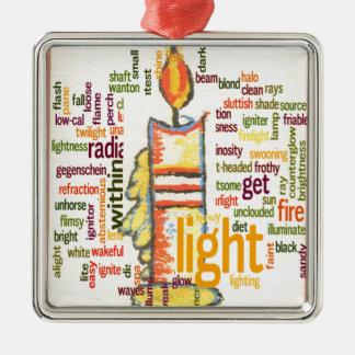 Light Lovely Metal Ornament