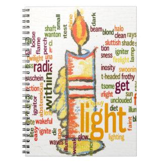 Light Lovely Notebook
