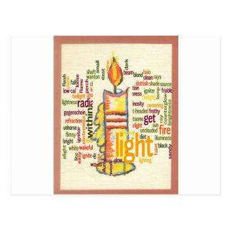 Light Lovely Postcard