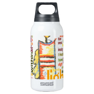 Light Lovely Thermos Water Bottle