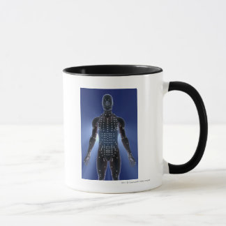 Light map of acupuncture points mug