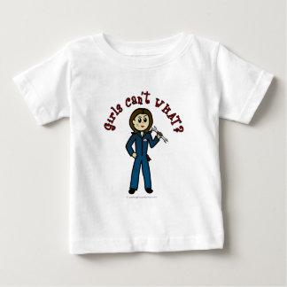 Light Mechanic Girl Baby T-Shirt
