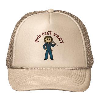 Light Mechanic Girl Trucker Hat