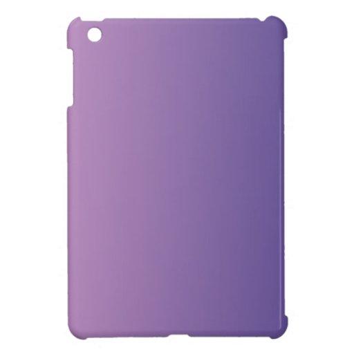 Light Medium Orchid to Dark Slate Blue V Gradient iPad Mini Cases